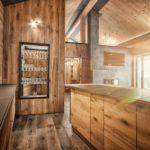 Designer-Küche mit herrlichem Ausblick