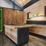 Design-Küche im SPAradies