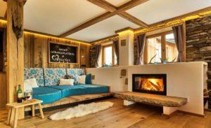 Chalet Suite Whirlpool, Chalet Suite mit Whirlpool und Sauna