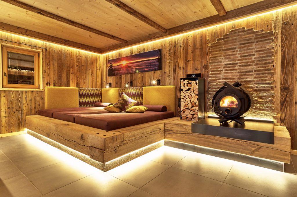 Luxus Chalet mit eigenem Spa Bereich: Sauna, Whirlpool, Ruheraum