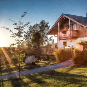 Chalet Bayerischer Wald mit Whirlpool und Sauna