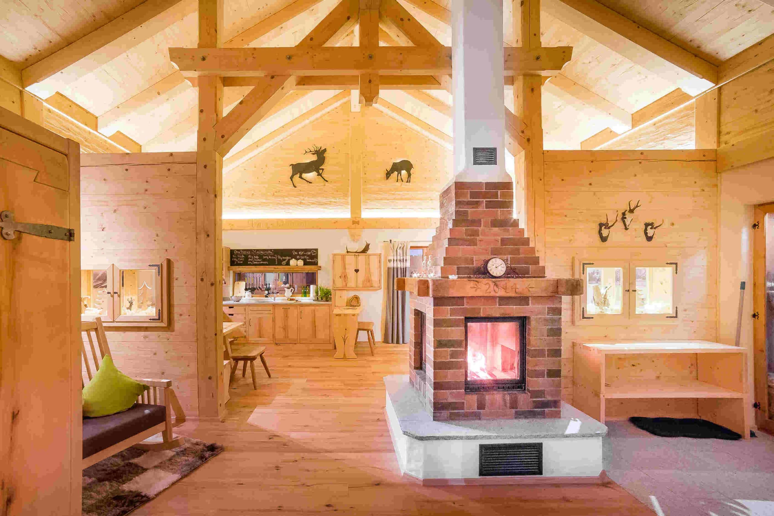 Holz Chalet in Bayern