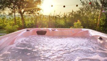 Whirlpool im Chalet, außenwhrilpool